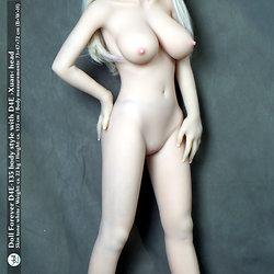 D4E-135 Körperstil mit ›Xuan‹ Kopf von Doll Forever / Hautton ›white‹
