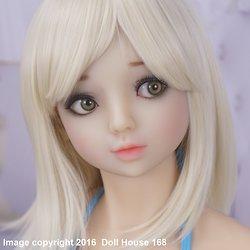 ›Poey II‹ Kopf mit DH-100 Body von Doll House 168