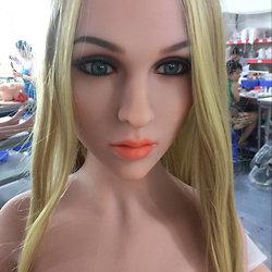 WM Doll Körperstil WM-156 mit Kopf Nr. 159 (Jinsan Nr. 159) im Hautton 'light ta