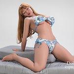 WM Doll Körperstil WM-158/G mit Kopf Nr. 223 (Jinsan Nr. 223) - TPE
