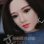 JY Doll Körperstil JY-170 mit kleinen Brüsten und Kopf Nr. 174 (Junying Nr. 174)