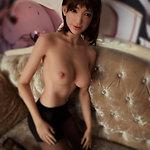 Sino-doll Körperstil SI-161/E mit S16 Kopf aka ›Snow‹ - Silikon