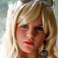 YL Doll Kopf ›Leslie‹