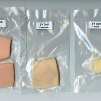 Farbmuster der Hauttöne von SY Doll (2018)