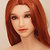 Sanhui 165 (165 cm) mit Kopf Nr. 165/1, blauen Augen und roten Haaren