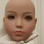 WM Dolls Kopf - Modell Nr. 21 im Hautton WM-Brown