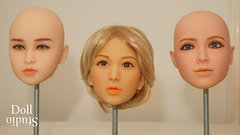 Side by side: TPE skin tones - Jinshan - DH168 - Maiden Doll/Lifanou